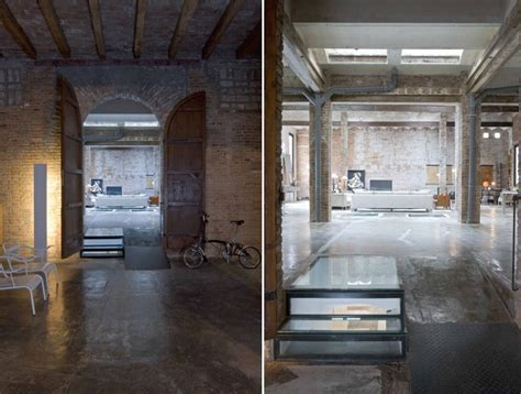 Garage Apt Plans barcelona printing press renovated into industrial chic