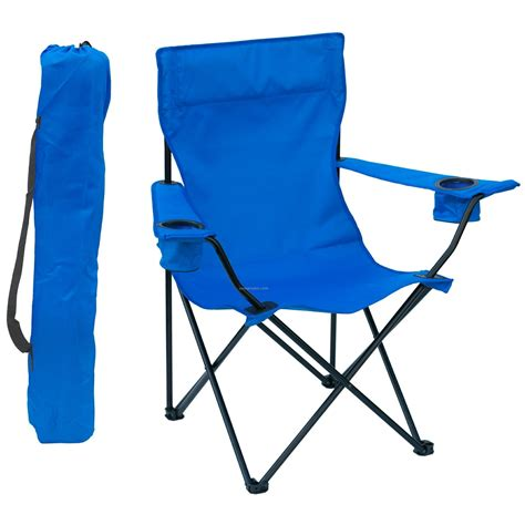 Chairs In A Bag by Folding Chair W Arm Rests 2 Cup Holders And Carry Bag