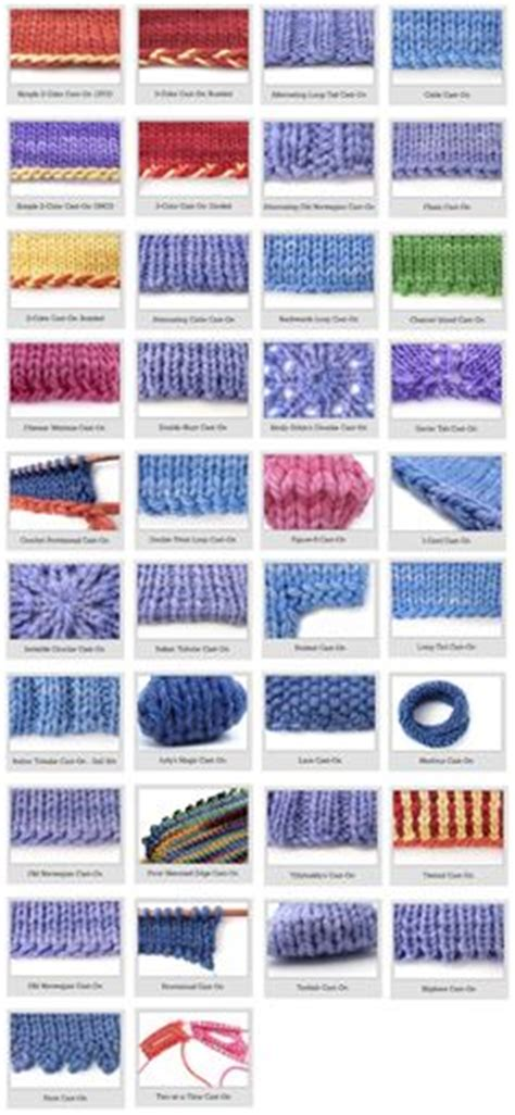 types of loom knitting stitches cast on for loom knitting crochet ideas and patterns