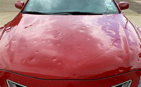 Hair Dryer To Fix Hail Damage repairing hail damage to your car car tips