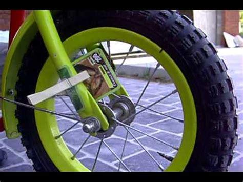 een kinderfiets met motor geluid youtube