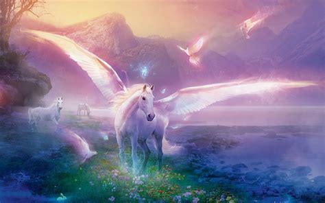 unicorn screensavers  wallpaper wallpapersafari