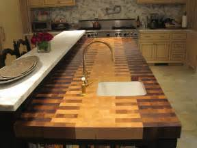 Diy Wood Countertops For Kitchen » Home Design 2017