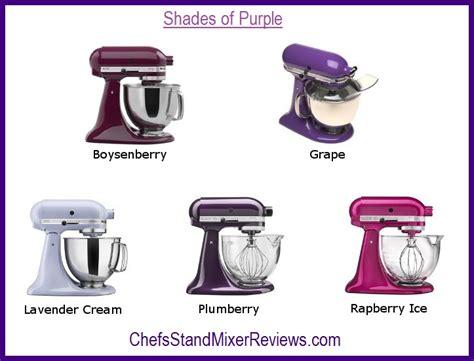 kitchenaid mixer comparison a purple kitchenaid mixer is a royally great choice