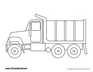 Truck Template by Printable Truck Templates For