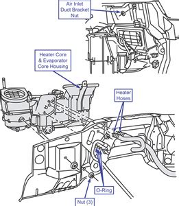 solved need hose diagram for heater valve 1996 ford exp