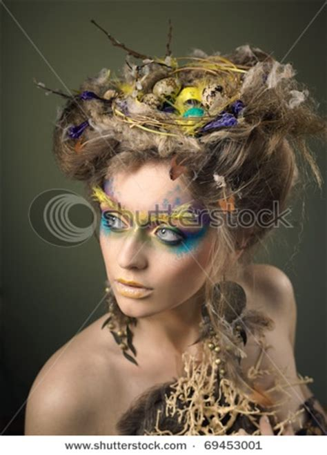 parrot hairstyle birds nest hair what the stylish faerie wear pinterest