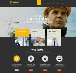 company templates 41 construction website themes templates free