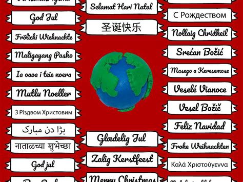 merry xmas      languages    world box