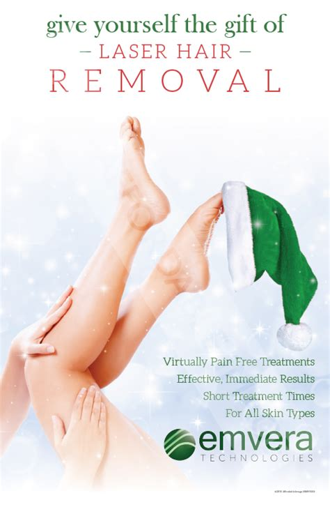 do it yourself hair laser removal laser hair removal give yourself the gift brochure stand