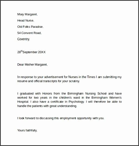exle of covering letter for employment 10 employment cover letter template sletemplatess