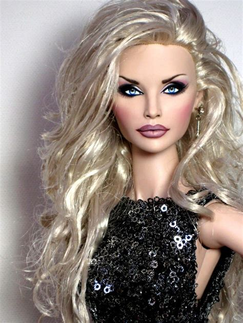 fashion doll repaints fashion royalty integrity 16 hanne erikson ooak doll
