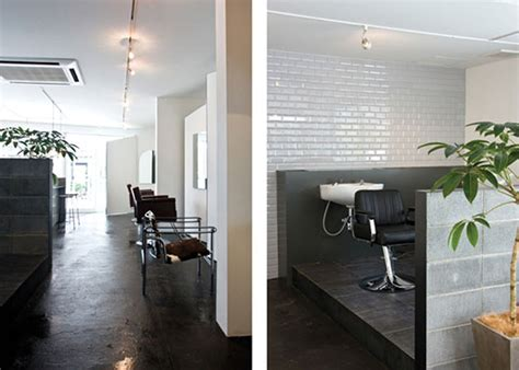 cool clean modern hair salons decosee salon interiors also