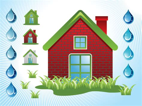 home design vector free download green house