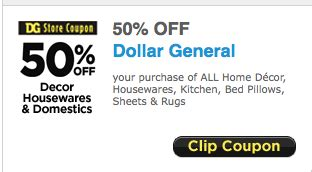 real deals home decor coupons printable dollar general 50 off home decor printable coupon