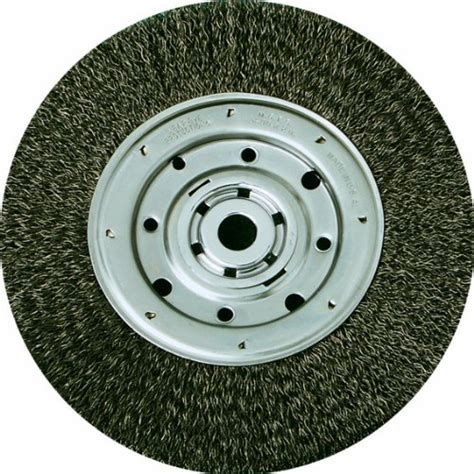 bench wire wheel united abrasives sait 09559 7 inch by 014 inch by 5 8