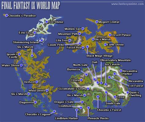 ff9 world map theme ix maps