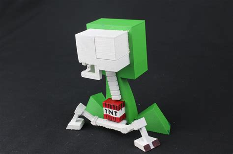 3d Printing Puts The Postman Out Of A by You Can Now 3d Print Minecraft Creepers With All The