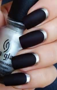 black nails mysterious and very