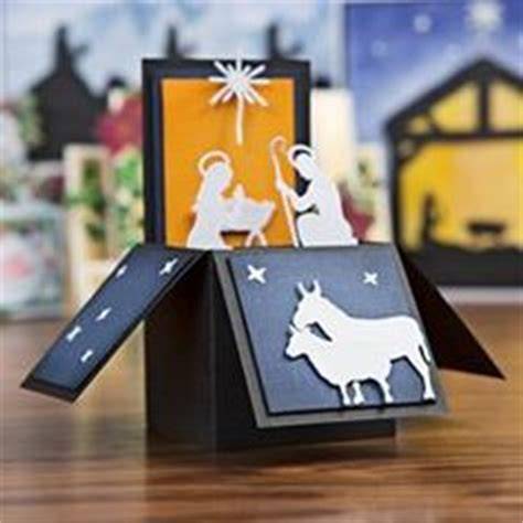 pop up nativity card template 1000 images about cards nativity cutting dies