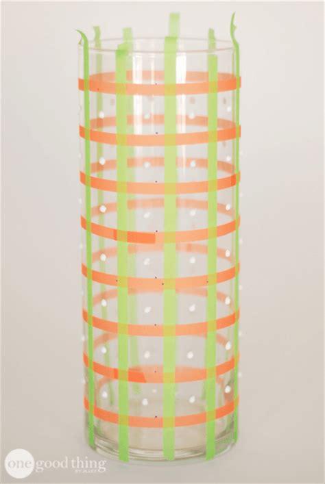 Diy Glass Vase L by Diy Hobnail Milk Glass Vase One Thing By Jillee