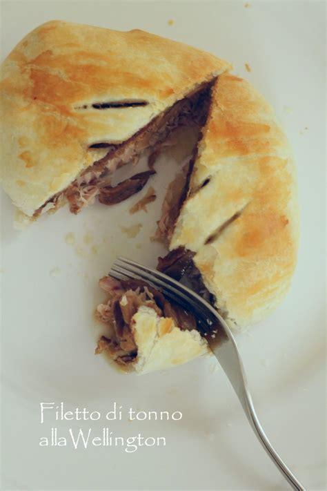 cucinare il filetto di tonno filetto di tonno alla wellington un pinguino in cucina