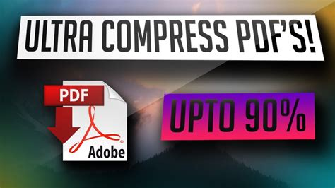 Compress Pdf Cnet | how to compress pdf files upto 90 youtube