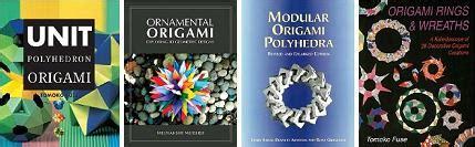 Modular Origami Books - modular origami create amazing geometric shapes through