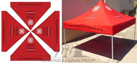 grafik design vendor vendor tents with graphics from inflatable design group