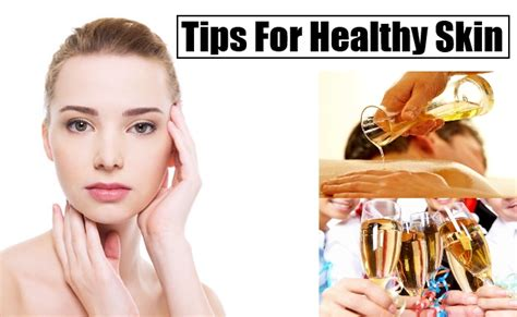 tips for healthy skin care essential oils for beautiful