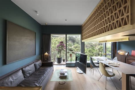 tiny tree house inspired hong kong apartment takes its