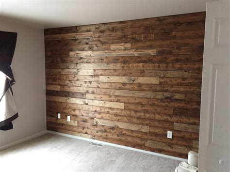 you are only a day away from your very own wooden accent wall here s how to do it http zlw
