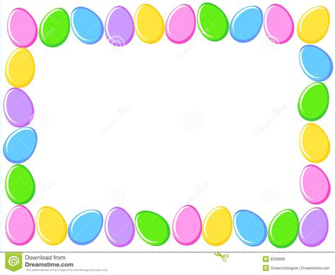 free easter clipart free egg border clip 38