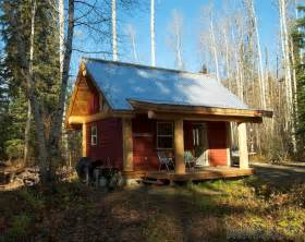 Small Homes For Sale Bc A Post And Beam Cabin In The B C Woods Small House Bliss