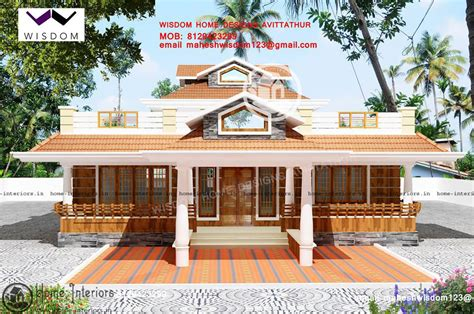 design of kerala style home 3 bhk super single floor house design house plan