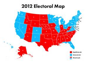 post election us map key senate races 2012 images
