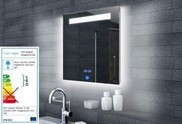 lada specchio bagno led milena 60 zrkadlo s led osvetlen 237 m a hodinami ml6506