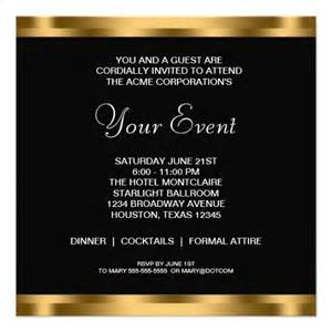 Business Party Invitation Template Invitation Template Category Page 1 Efoza Com