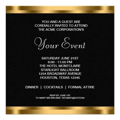 Invitation Template Category Page 1 Efoza Com Professional Business Invitation Templates