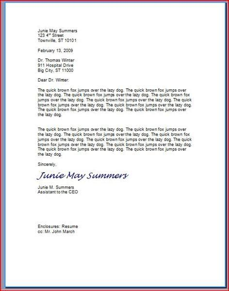 best photos of proper business letter format sample business
