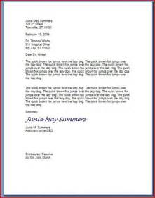 Business Letter Spacing Proper Spacing For Business Letters