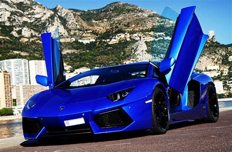 Navy Blue Lamborghini Out Showkase A Custom Car Sport Truck Suv