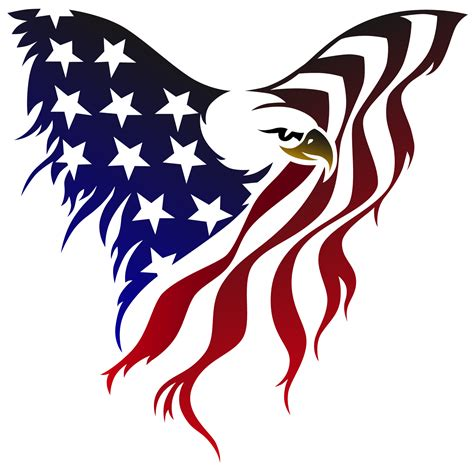 american flag eagle tattoo american flag eagle tattoos