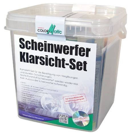 Scheinwerfer Polieren Klarlack by Scheinwerfer Klarsicht Set Motip Dupli De