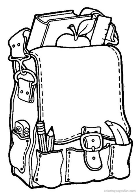 Back To School Coloring Pages 8 Free Printable Coloring School Coloring Pages Printable