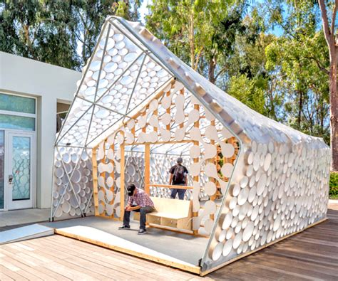 low cost housing design and materials recyclable materials inhabitat green design