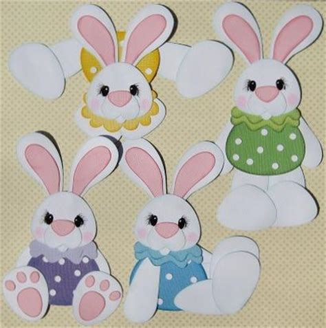 easter paper crafts free you to see pudgy easter bunnies on craftsy