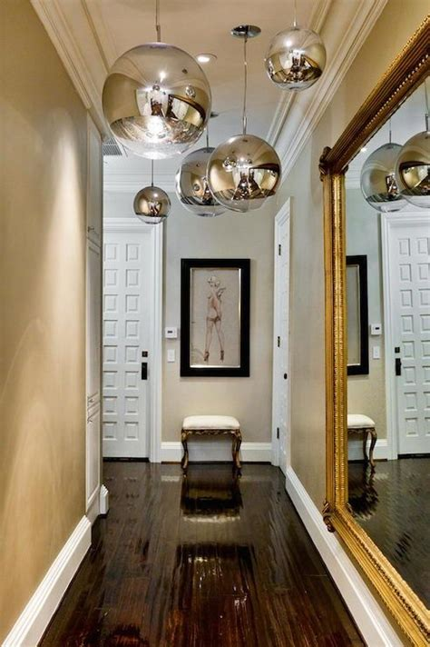 Hallway Pendant Lights Entrances Foyers Tom Dixon Mirror Foyer Foyer Hallway Hallway