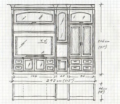 Kitchen Gun Sketch More Kitchen Table Free Woodworking Plans Gun Cabinet