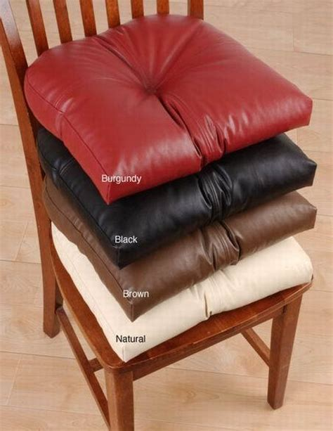 faux leather chair pads australia black faux leather chair cushions chairs seating